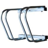 Wall Mounting Galvanised Twin Bike Rack [001-0880]