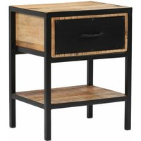 Wasola 1 Drawer Bedside Table by Williston Forge - Brown