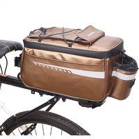Asupermall - Waterproof Insulated Trunk Cooler Bag Cycling Bicycle Rear Rack Seat Bag Luggage Storage Bag MTB Bike Pannier Bag Shoulder