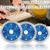 Drillpro - Wave Style Diamond Saw Blade, Porcelain Tile, Ceramic Dry Cutting Disc, Cutting Blade, Thin Blade, Porcelain Tile, Ceramic Granite Cutter