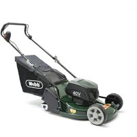 R17LIP Cordless 40v 2-Wheel Push Rotary Lawn Mower with Battery - Webb