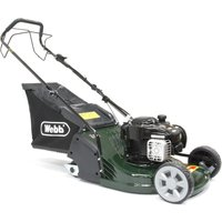 RR17SP Petrol Self Propelled Rear Roller Rotary Lawn Mower 43cm/17in - Webb