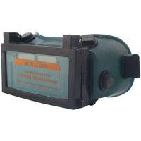 Asupermall - Welding goggles, anti-arc and anti-glare welder glasses, dark green