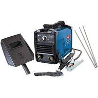 Inverter Welder 160Amp Electrode Mma With Accessories 230V Scheppach Wse1100