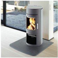 Westfire Uniq 15 Grey Modern Wood Burning Stove 5kW Glass Window Fire Log Store