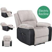 WestWood Electric Recliner Sofa WW-RS-06 Light Grey