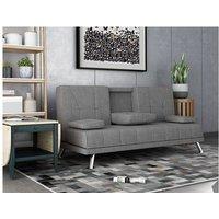 WestWood Fabric Manhattan Sofa Bed Grey