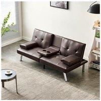WestWood Manhattan Sofa Bed Brown