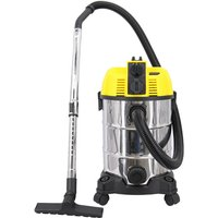 Wet and Dry Vacuum Cleaner, Self-Cleaning and Blowing Function 5 in 1 30L Capacity Vacuum Cleaners with Plug Socket,Flexible Tube Crevice Tool