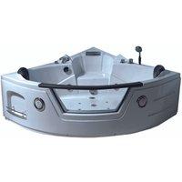 Whirlpool bath tub Model TENERIFE 150 X 150 cm