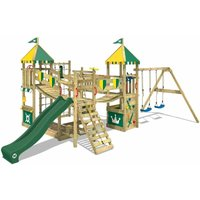 WICKEY Climbing frame Smart Queen with swing, slide and sandpit