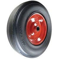 Rubber Tyre Pressed Steel Centre 355MM-25MMB Wheel Roller Bear - Atlas Workholders