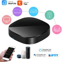 Asupermall - WiFi-IR Remote IR Control Hub Wi-Fi(2.4Ghz) Enabled Infrared Universal Remote Controller For Air Conditioner TV Using Tuya Smart Life