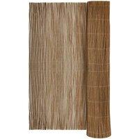 Willow Fence 300x120 cm - Brown - Vidaxl