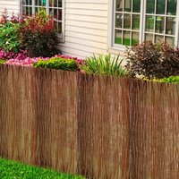 Willow Fence 500x170 cm - Brown