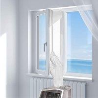 Betterlifegb - Window Gasket Air Conditioning 400cm Fabric Calement Air Conditioning Mobile Windows, Windows Air Conditioning, Mobile Air Conditioner
