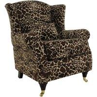 Wing Chair Fireside High Back Armchair Little Giraffe