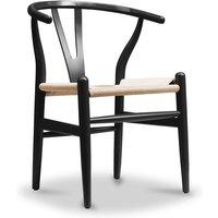 Wish desing chair CW24 - Natural Seat Black