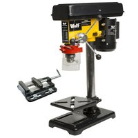 Wolf Engineers 9 Speed Pillar Drill with 2.5 Vice