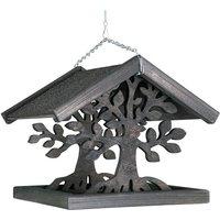 Wooden bird feeder, MAGIC, Size: 30 X 30 X 28 cm. - VADIGRAN
