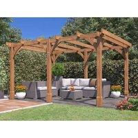 Wooden Pergola Garden Shade Plant Frame Furniture Kit -