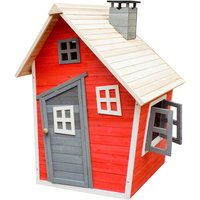 Eco-friendly playhouse for kids made of spruce wood Kids playhouse Wooden house Garden - WILTEC