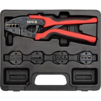 professional electricians ratchet crimping tool set quick release - Yato