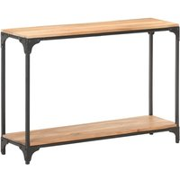 Console Table 110x30x75 cm Solid Acacia Wood - Youthup