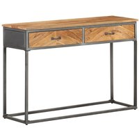 Console Table 110x35x75 cm Solid Acacia Wood - Youthup