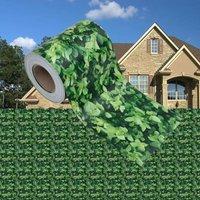 Garden Privacy Screen PVC 35x0.19 m Green - Youthup