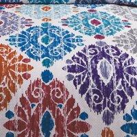 Zara Teal Single Duvet Cover Set Reversible Bedding Bed Set Bed Linen - RAPPORT