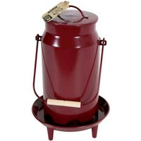 ZOLUX Feeder On Stand - Metal - Red - 3,5Kg - 175640