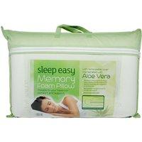 Aloe Vera Memory Foam Pillow, Standard Pillow Size