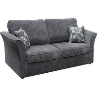 Buoyant Newry Sofa Bed, 2 Seater Sofa Bed with Deluxe Mattress, Lush Charcoal