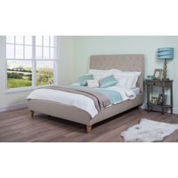 Cadot Rosa Fabric Bed, Double