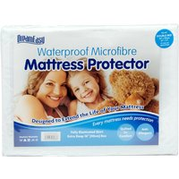 Dreameasy Luxury Waterproof Mattress Protector, Small Double