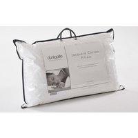 Dunlopillo Jacquard Cotton Pillow, Standard Pillow Size