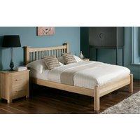 Flintshire Aston Wooden Oak Bed, Single