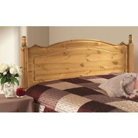 Friendship Mill Boston Solid Pine Wooden Headboard, Single