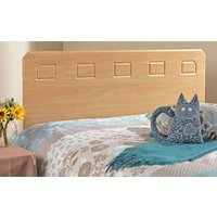 Friendship Mill Miami Wooden Headboard, King Size, White