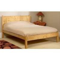 Friendship Mill Vegas Wooden Bed Frame, Small Double, 2 Drawers