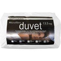 Harwoods 13.5 Tog Microfibre Duvet, Superking