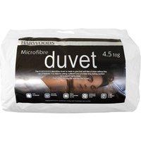 Harwoods 4.5 Tog Microfibre Duvet, Superking