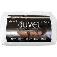 Harwoods 10.5 Tog Microfibre Duvet, Single