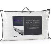 Relyon Superior Comfort Slim Latex Pillow, Standard Pillow Size