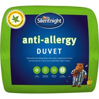 Silentnight 10.5 Tog Anti-Allergy Duvet, Single