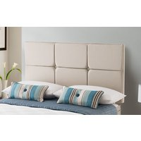 Silentnight Castello Headboard, Double, Slate Grey