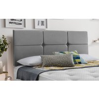 Silentnight Castello Headboard, Single, Slate Grey