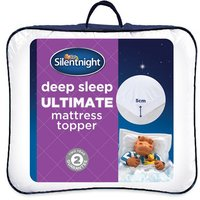 Silentnight Deep Sleep Luxury Mattress Topper, King Size
