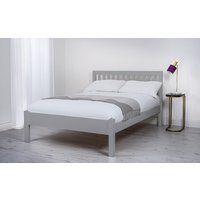 Silentnight Hayes Grey Wooden Bed Frame, Double